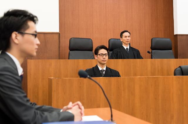 訴訟の手続きのイメージ
