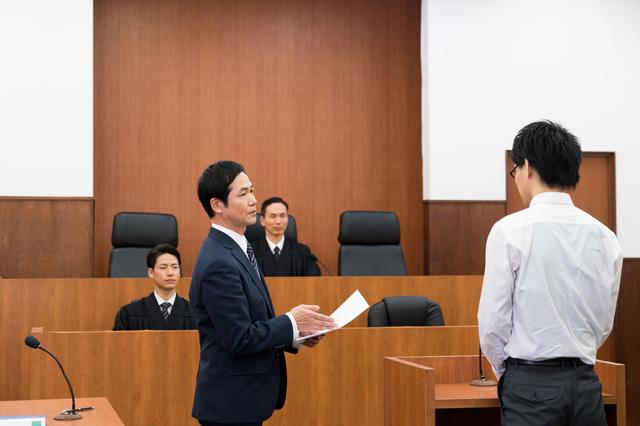 証人尋問のイメージ